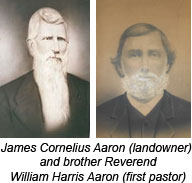 James Cornelius Aaron and brother Rev. William Harris Aaron